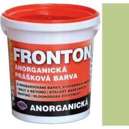 Fronton Anorganická prášková barva Zelená pro venkovní a vnitřní použití 800 g