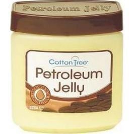 Cotton Tree Petroleum Jelly Cocoa Butter Petrolejová mast která hojí na suchou pokožku, opruzeniny, omrzliny 226 g