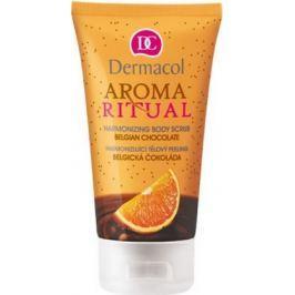 Dermacol Aroma Ritual Belgická čokoláda Harmonizující tělový peeling 150 ml