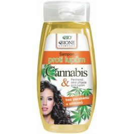 Bione Cosmetics Cannabis šampon proti lupům pro ženy 250 ml