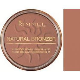 Rimmel London Natural Bronzer pudr 021 Sun Light 14 g