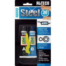 Alteco Epoxy Steel 30 min dvousložkové epoxidové lepidlo s plničem 56,8 g