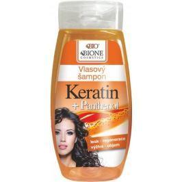 Bione Cosmetics Keratin & Panthenol šampon pro všechny typy vlasů 260 ml