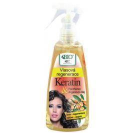 Bione Cosmetics Keratin & Arganový olej vlasová regenerace 260 ml