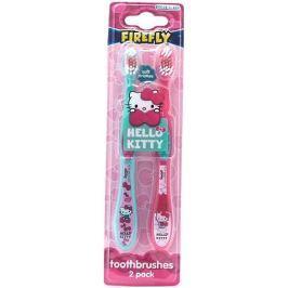 Hello Kitty Kartáček na zuby pro děti 2 kusy