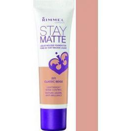 Rimmel London Stay Matte Liquid Mousse make-up 201 Classic Beige 30 ml