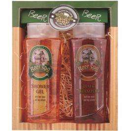 Bohemia Gifts & Cosmetics Beer Spa Sprchový gel 250 ml + Vlasový šampon 250 ml, dárková sada
