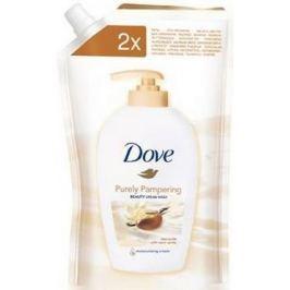 Dove Purely Pampering Bambucké máslo a vanilka tekuté mýdlo náhradní náplň 500ml