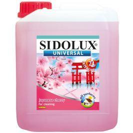 Sidolux Universal Květ Japonské višně mycí prostředek na všechny omyvatelné povrchy a podlahy 5 l