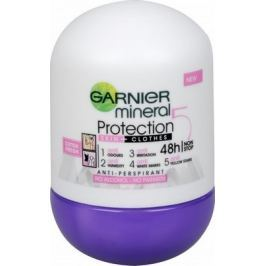 Garnier Mineral Protection 5 48h Cotton Fresh kuličkový antiperspirant deodorant roll-on pro ženy 50 ml