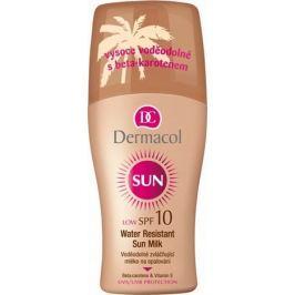 Dermacol Sun Milk SPF10 Voděodolné mléko na opalování 200 ml sprej