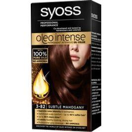 Syoss Oleo Intense Color barva na vlasy bez amoniaku 3-82 Jemný mahagonový
