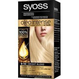 Syoss Oleo Intense Color barva na vlasy bez amoniaku 9-10 Zářivě plavý