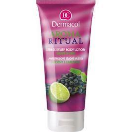 Dermacol Aroma Ritual Hrozny s limetkou Antistresový tělové mléko 200 ml