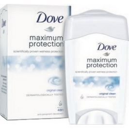 Dove Maximum Protection Original Clean antiperspirant deodorant stick pro ženy 45 ml
