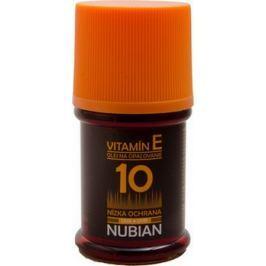 Nubian OF10 Olej na opalování, nízká ochrana 60 ml Drogerie