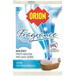 Orion Fragrance Vůně čistého prádla závěsné kolíčky proti molům 2 kusy