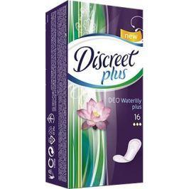Discreet Deo Plus Water Lily Plus intimní vložky 16 kusů