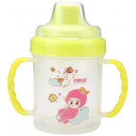 Baby Farlin Magic Cup hrníček netekoucí s tvrdým pítkem 6+ měsíců různé barvy 200 ml AET-CP011-B