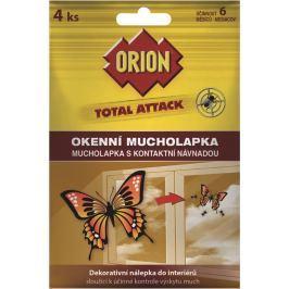 Orion Total Attack okenní mucholapka s kontaktní návnadou 4 kusy