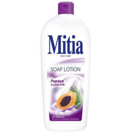 Mitia Papaya in Palm Milk krémové tekuté mýdlo náhradní náplň 1 l