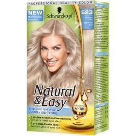 Schwarzkopf Natural & Easy barva na vlasy 523 Zářivá ledově plavá