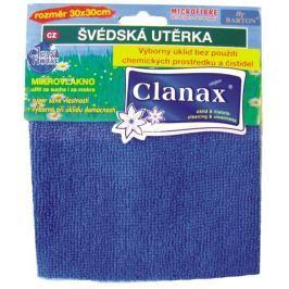 Clanax Švédská utěrka mikrovlákno 30 x 30 cm, 205 g 1 kus