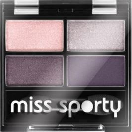 Miss Sporty Studio Colour Quattro oční stíny 402 Smoky Green Eyes 3,2 g