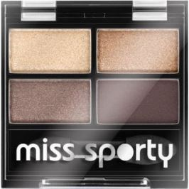 Miss Sporty Studio Colour Quattro oční stíny 403 Smoky Brown Eyes 3,2 g