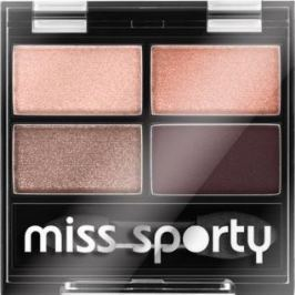 Miss Sporty Studio Colour Quattro oční stíny 408 Smoky Rose 3,2 g