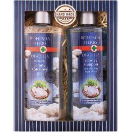 Bohemia Gifts & Cosmetics Dead Sea Mrtvé moře s extraktem mořských řas a solí sprchový gel 250 ml + šampon na vlasy 250 ml, kosmetická sada