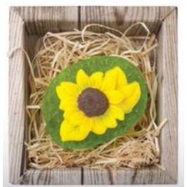 Bohemia Gifts & Cosmetics Slunečnice ručně vyráběné toaletní mýdlo v krabičce 60 g Mýdla