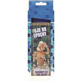 Bohemia Gifts & Cosmetics Pojď do sprchy deodorační sprchový gel Oceanic s extraktem mořské řasy a s originální 3D etiketou 300 ml