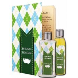 Bohemia Gifts & Cosmetics Pohádka o dědečkovi sprchový gel 250 ml + olejová lázeň 200 ml (s příjemnou citrusovou vůní). kniha kosmetická sada