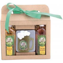 Bohemia Gifts Beer Spa sprchový gel 100 ml + ručně vyráběné mýdlo půllitr 100 g + šampon na vlasy 100 ml, kosmetická sada