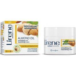 Lirene Mandlový olej Hydratační zjemňující vyživující denní i noční krém 50 ml Drogerie