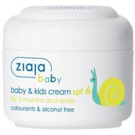 Ziaja Baby & Kids SPF 6 ochranný krém s filtrem 50 ml Drogerie