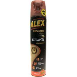 Alex Renovátor nábytku - extra péče s přírodnímvýtažkem ze dřeva chrání nábytek a obnovuje jeho přirozenou barvu sprej 400 ml