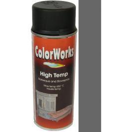 Color Works High Temp 8553 antracit žáruvzdorný lak na povrchy 400 ml Barvy
