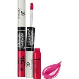 Dermacol 16H Lip Colour dlouhotrvající barva na rty 08 3 ml a 4,1 ml Rtěnky