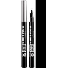 Bourjois Mega Liner Ultra Black oční linky 02 Ultra Black 0,8 ml