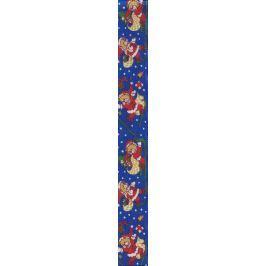 Alvarak Textilní návin vánoční potisk mix barev a velikostí 1 kus Dárkové tašky