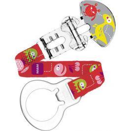 Mam Clip pásek na šidítko různé motivy a barvy 1 kus Dudlíky a šidítka