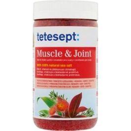 Tetesept Muscle & Joint Svaly a klouby Rozmarýn+Kafr+Eukalyptus 100% Mořská sůl 900 g