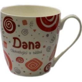 Nekupto Twister hrnek se jménem Dana červený 0,4 litru 008 1 kus
