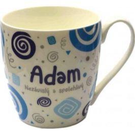 Nekupto Twister hrnek se jménem Adam modrý 0,4 litru 001 1 kus