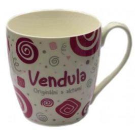 Nekupto Twister hrnek se jménem Vendula růžový 0,4 litru 077 1 kus