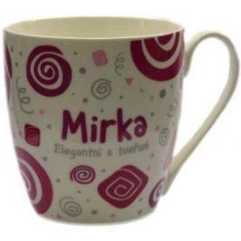 Nekupto Twister hrnek se jménem Mirka růžový 0,4 litru 054 1 kus
