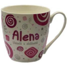 Nekupto Twister hrnek se jménem Alena růžový 0,4 litru 003 1 kus