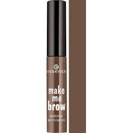 Essence Make Me Brow Eyebrow Gel gelová řasenka na obočí 02 Browny Brows 3,8 ml Barvy na řasy a obočí